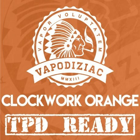"CLOCKWORK ORANGE ""TPD READY"" by Vapodiziac"