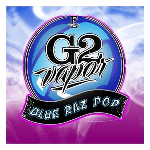 BLUE RAZ POP 50in60 by G2 VAPOR