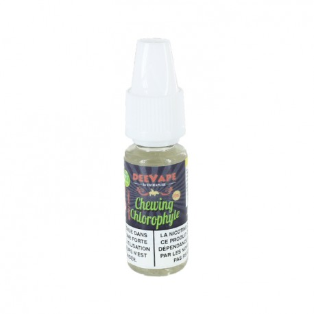 """CHEWING CHLOROPHYLLE """"TPD READY"""" by Deevape"""