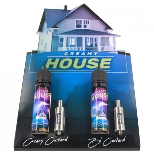 Présentoir Creamy House
