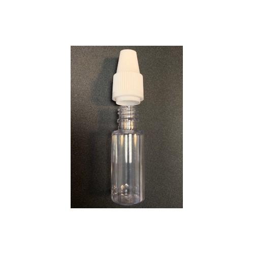 Flacon vide 10ml avec bouchon et pipette by BERICAP - 1 pièce