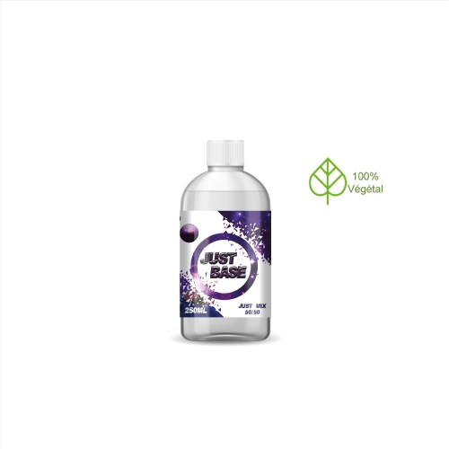 BASE 250ML en 0mg by JUST BASE