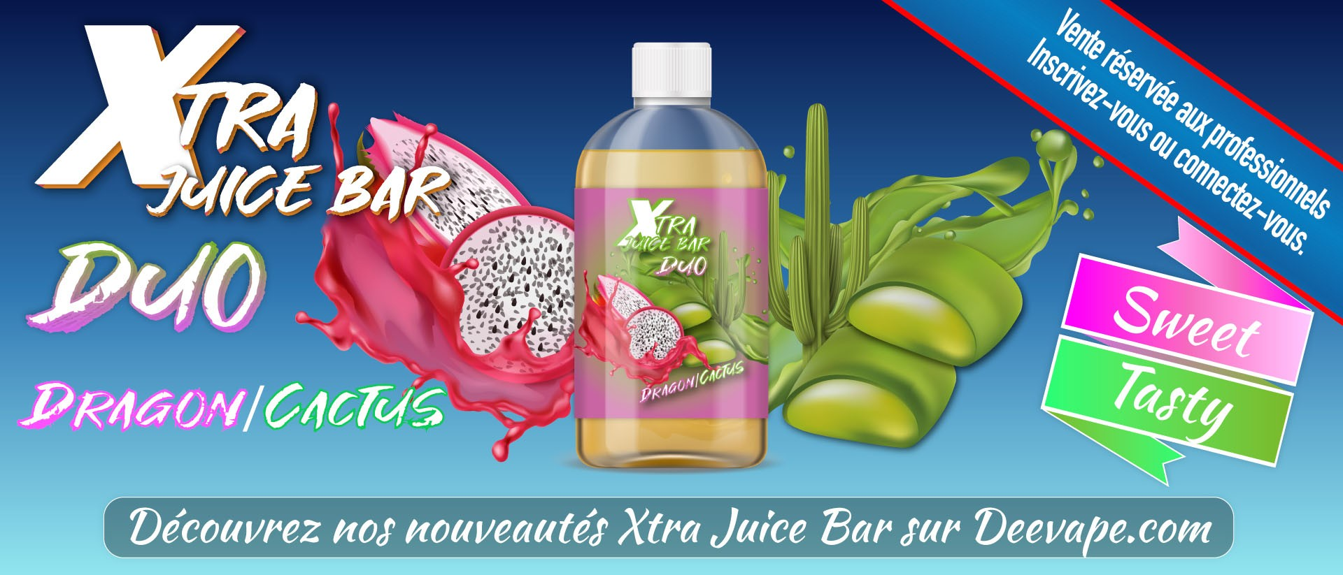 XTRA JUICE BAR DUO - DRAGON/CACTUS