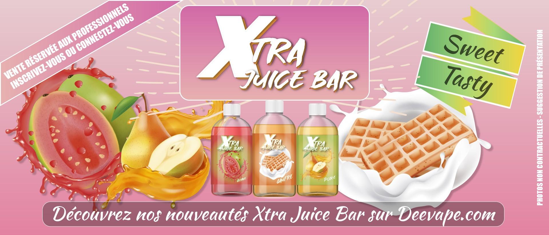 Nouveautés XTRA JUICE BAR